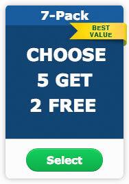 choose 7 get 2 free